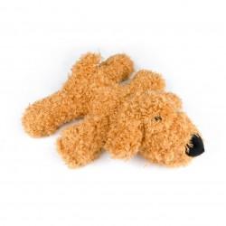 Billipets - 超軟發聲毛毛狗玩具 - 啡色