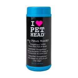 PET HEAD - Paw & Body 濕紙巾 - 50 張