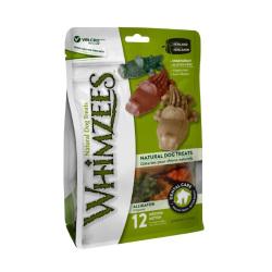 WHIMZEES - 中型犬專用鱷魚形高效潔齒骨 - 12.7 安士
