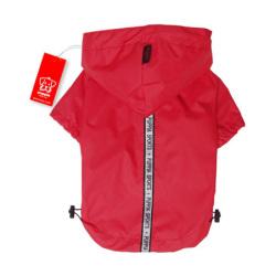 Puppia - Base Jumper 雨衣 (紅色) - 大