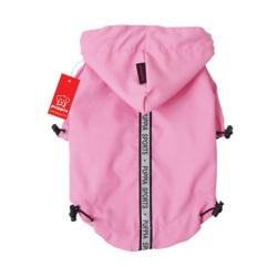 Puppia - Base Jumper 雨衣 (粉紅色) - 大