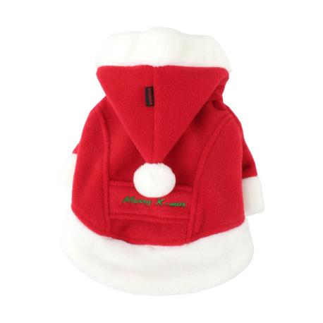 Puppia - 聖誕外套 (紅色) - 加大
