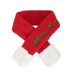 Puppia - 聖誕頸巾 (紅色) - 細