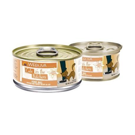 Weruva 肉汁系列 - 雞肉、火雞 - 85 克