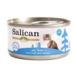 Salican - 白肉吞拿魚慕絲幼貓罐頭 - 85 克