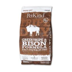 PetKind - 無穀物牛及野牛草胃配方狗糧 - 6 磅