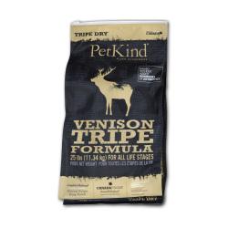 PetKind - 無穀物鹿草胃配方狗糧 - 6 磅