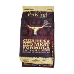 PetKind - 無穀物極級草胃紅肉配方狗糧 - 6 磅