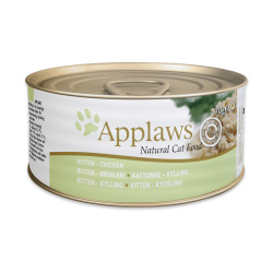Applaws 愛普士 - 全天然幼貓雞胸肉貓罐頭 - 70 克