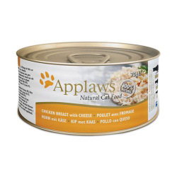 Applaws 愛普士 - 全天然雞胸肉、芝士貓罐頭 - 70 克