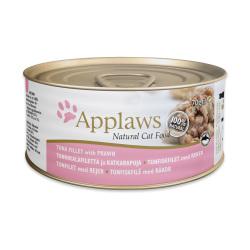 Applaws 愛普士 - 全天然吞拿魚柳、蝦貓罐頭 - 70 克