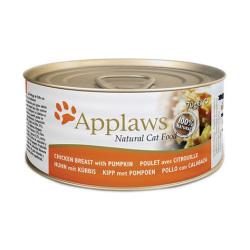 Applaws 愛普士 - 全天然雞胸肉、南瓜貓罐頭 - 70 克