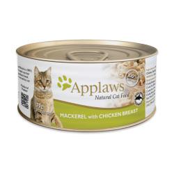 Applaws 愛普士 - 全天然雞胸肉、鯖魚貓罐頭 - 70 克