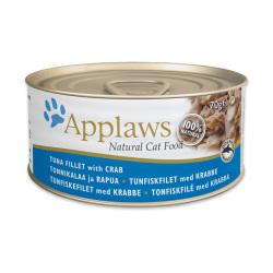 Applaws 愛普士 - 全天然吞拿魚、蟹肉貓罐頭 - 70 克
