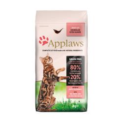 Applaws 愛普士 - 雞肉三文魚成貓糧 - 2 公斤