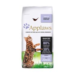 Applaws 愛普士 - 雞肉鴨肉成貓糧 - 2 公斤