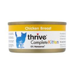 Thrive 脆樂芙 - 整全貓罐頭 (幼貓雞胸肉) - 75 克