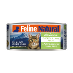 K9 Natural - F9 Feline Natural 雞肉及羊肉盛宴 - 85 克