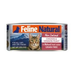 K9 Natural - F9 Feline Natural 雞肉及鹿肉主食貓罐頭 - 85 克