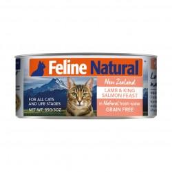 K9 Natural - F9 Feline Natural 羊肉及三文魚盛宴 - 85 克