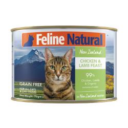 K9 Natural - F9 Feline Natural 雞肉及羊肉主食貓罐頭 - 170 克
