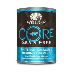 Wellness 寵物健康 - CORE 無穀物海洋魚狗罐頭 - 12.5 安士 到期日:2019-02-11