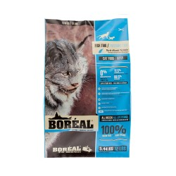 Boreal - 無穀物全貓三魚鮮肉配方 - 12 磅 到期日:2019-03-19