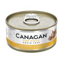 Canagan 原之選 - 吞拿魚伴雞肉 - 75 克