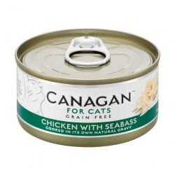 Canagan 原之選 - 雞肉伴鱸魚 - 75 克