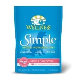 Wellness 寵物健康 - Simple 無穀物防敏感三文魚馬鈴薯配方 - 4.5 磅 到期日:2019-04-09