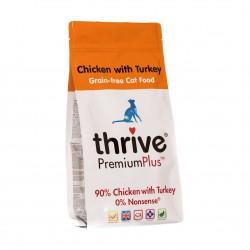 Thrive 脆樂芙 - Premium Plus 90% 鮮火雞肉無穀物貓糧 - 1.5 公斤