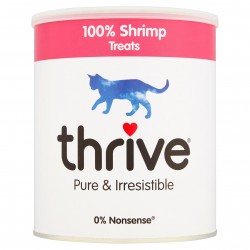 Thrive 脆樂芙 - 冷凍脫水海蝦貓小食 - 110 克