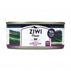 ZiwiPeak 巔峰 - 兔肉配羊肉配方貓罐頭 - 85 克