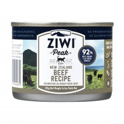 ZiwiPeak 巔峰 - 牛肉配方貓罐頭 - 185 克