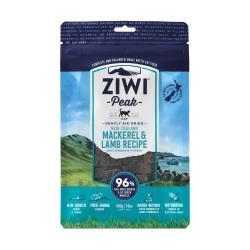 ZiwiPeak 巔峰 - 鯖魚及羊肉配方風乾脫水鮮肉貓糧 - 400 克