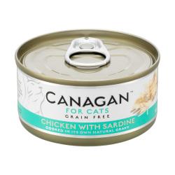 Canagan 原之選 - 雞肉伴沙甸魚 - 75 克