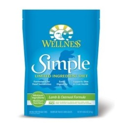 Wellness 寵物健康 - Simple 防敏感羊肉燕麥配方 - 4.5 磅 到期日:2019-05-26