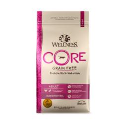 Wellness 寵物健康 - CORE 無穀物火雞拼鴨肉配方 - 5 磅 到期日:2019-04-23