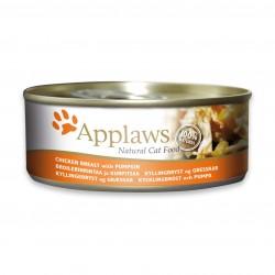 Applaws 愛普士 - 全天然雞胸肉、南瓜貓罐頭 - 156 克