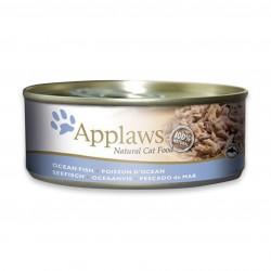 Applaws 愛普士 - 全天然海洋魚 (吞拿魚、鯖魚) 貓罐頭 - 156 克