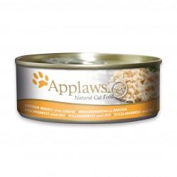 Applaws 愛普士 - 全天然雞胸肉、芝士貓罐頭 - 156 克