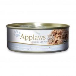 Applaws 愛普士 - 全天然吞拿魚柳、芝士貓罐頭 - 156 克