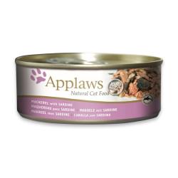 Applaws 愛普士 - 全天然鯖魚、沙丁魚貓罐頭 - 156 克
