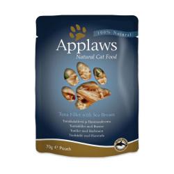 Applaws 愛普士 - 吞拿魚、鯛魚貓湯包 - 70 克