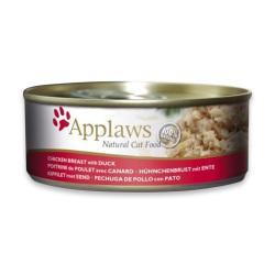 Applaws 愛普士 - 全天然雞胸、鴨肉貓罐頭 - 156 克