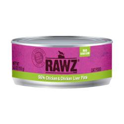 RAWZ - 96% 雞肉、雞肝全貓罐頭 - 155 克