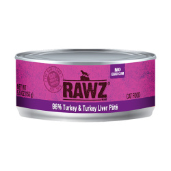 RAWZ - 96% 火雞肉、火雞肝全貓罐頭 - 155 克