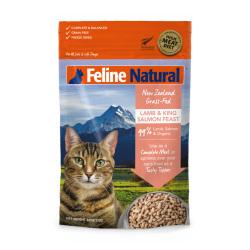 K9 Natural - F9 Feline Natural 羊肉及三文魚盛宴貓糧 - 320 克