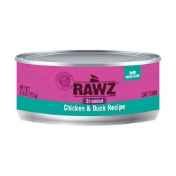 RAWZ - 雞肉、鴨肉肉絲全貓罐頭 - 155 克