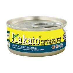Kakato 卡格 - 鯖花魚慕絲 - 70 克
